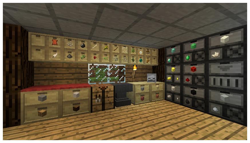 Storage Drawers Stylepep Com In 2020 Storage Drawers Minecraft Mods Minecraft