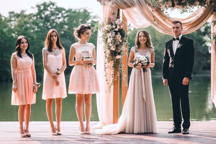 A blush colour theme for a gorgeous wedding | fabmood.com #wedding #blushwedding #weddinginspiration #realwedding #weddingstyle