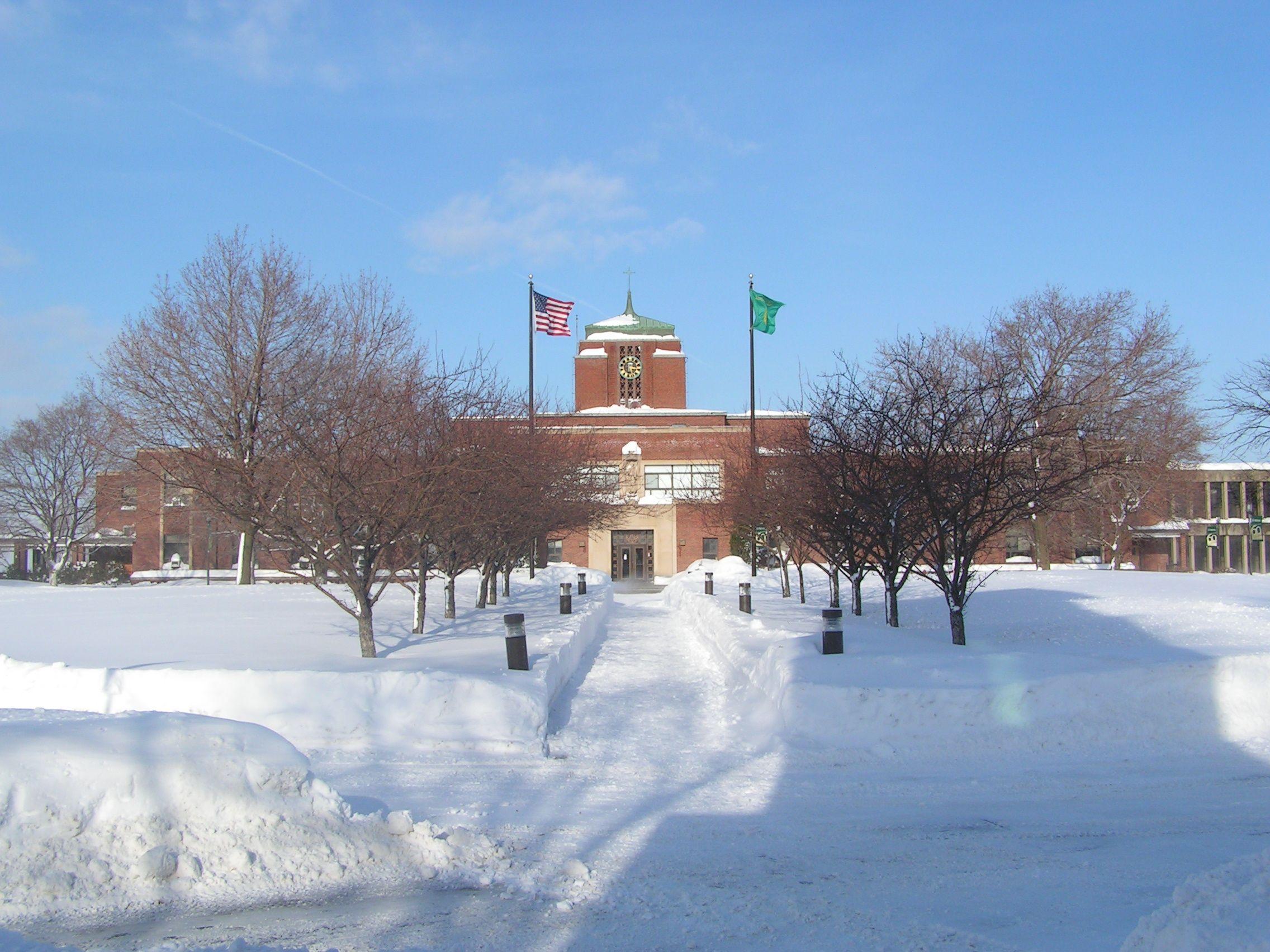 Le Moyne College Syracuse Ny My Undergraduate School During
