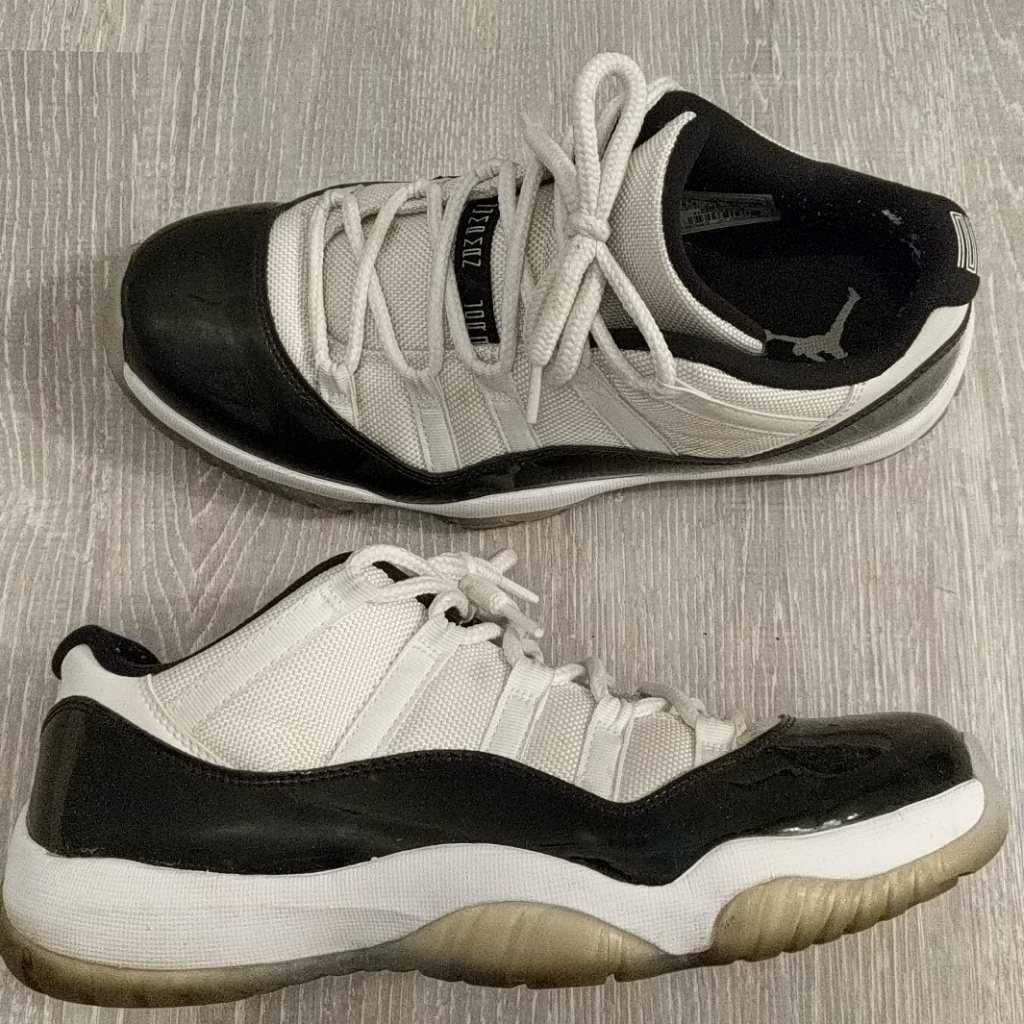 detailed look 056d4 16477 Jordan 11 Concord Lows, Size 8.5 | Color: Gray | Size: 8.5 ...