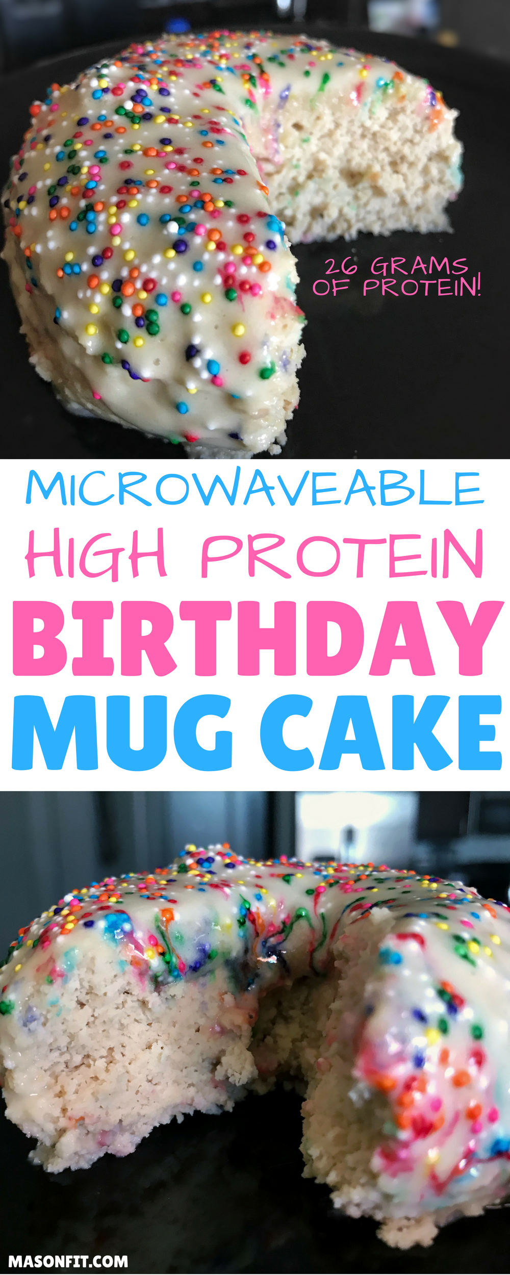 Astonishing A Mug Cake Recipe For High Protein Birthday Cake Thats Ready In Funny Birthday Cards Online Chimdamsfinfo
