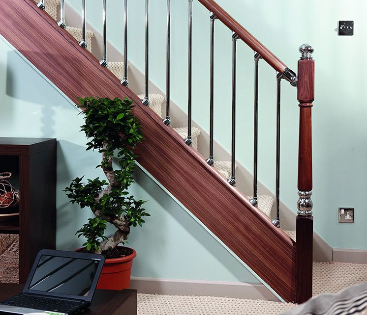 Best Axxys Origin Stair Parts Contemporary Staircase 400 x 300