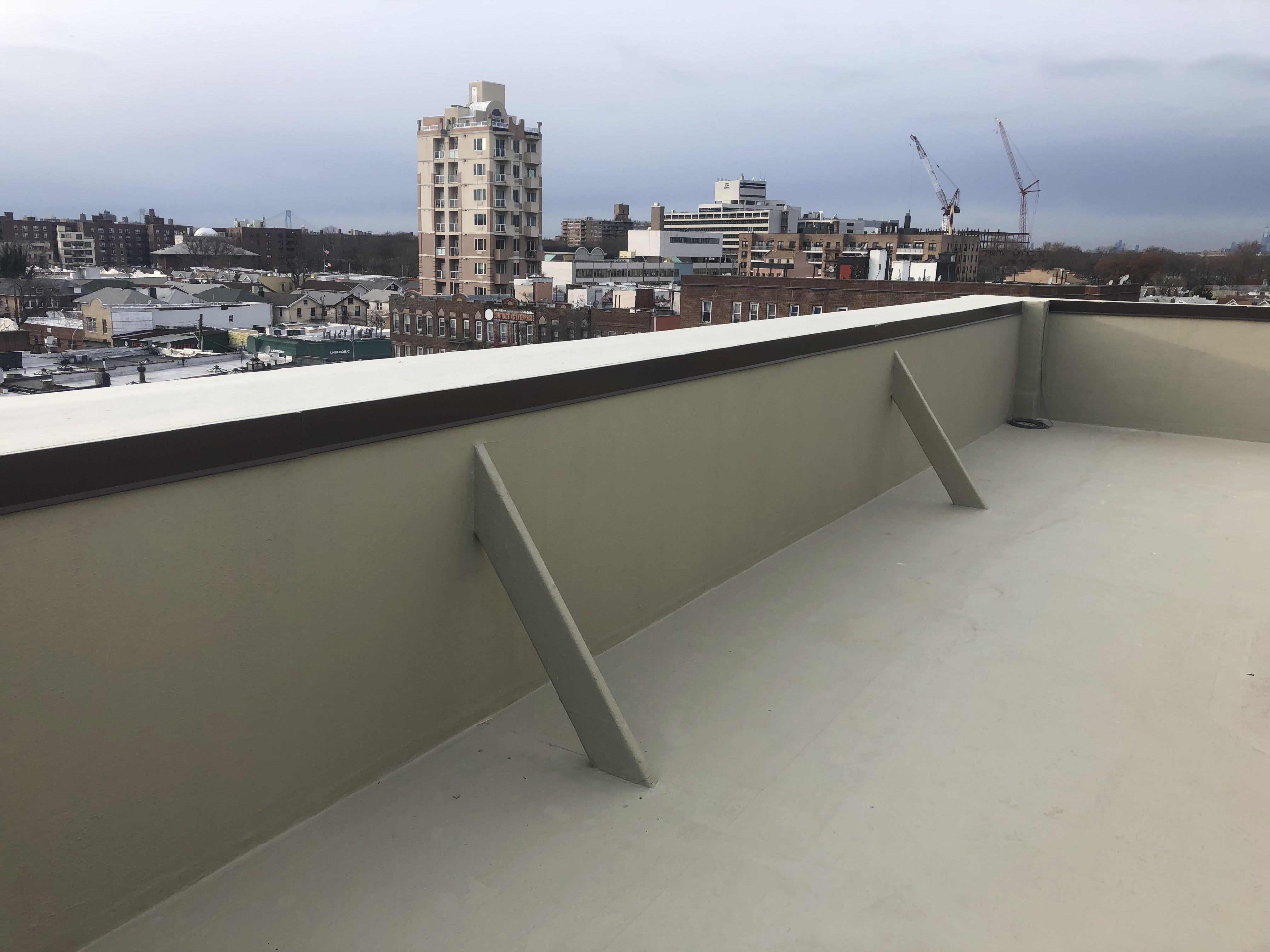 Brooklyn Condo Roof Renovation Roof Renovation Flat Roof Roof