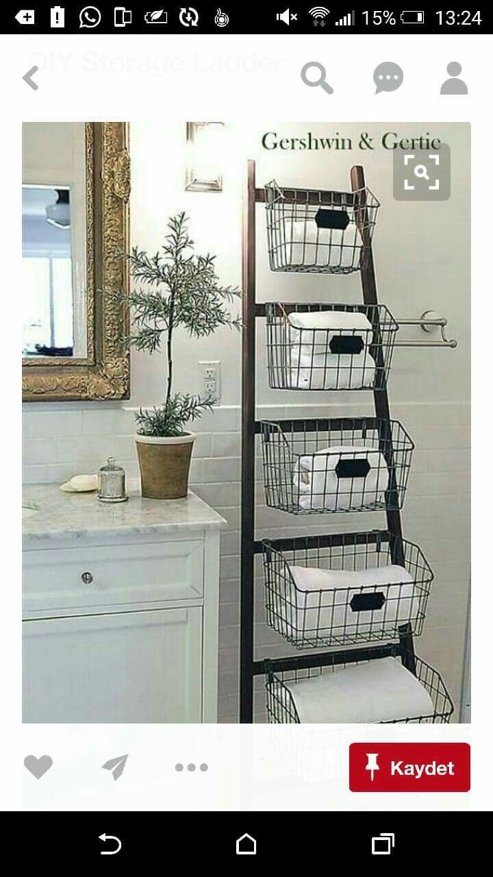 Storage for guest bath lounge in pinterest bathroom home