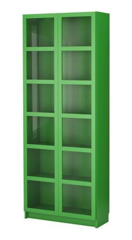 Green Ikea Bookcase Bookcase With Glass Doors Ikea Bookcase