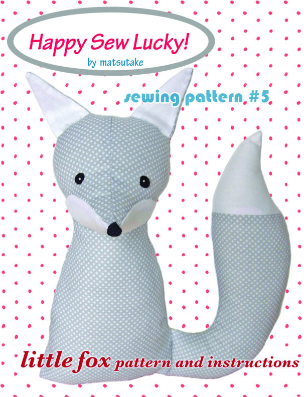 Free Fox Sewing Pattern | Puppets | Pinterest | Costura, Tela y ...