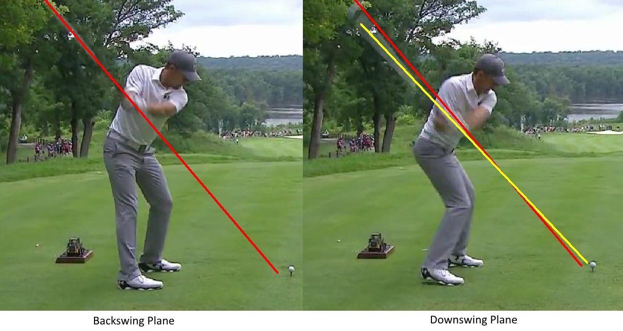 Jordan Spieth Swing Plane Golf Quotes Golf Lessons Golf Tips
