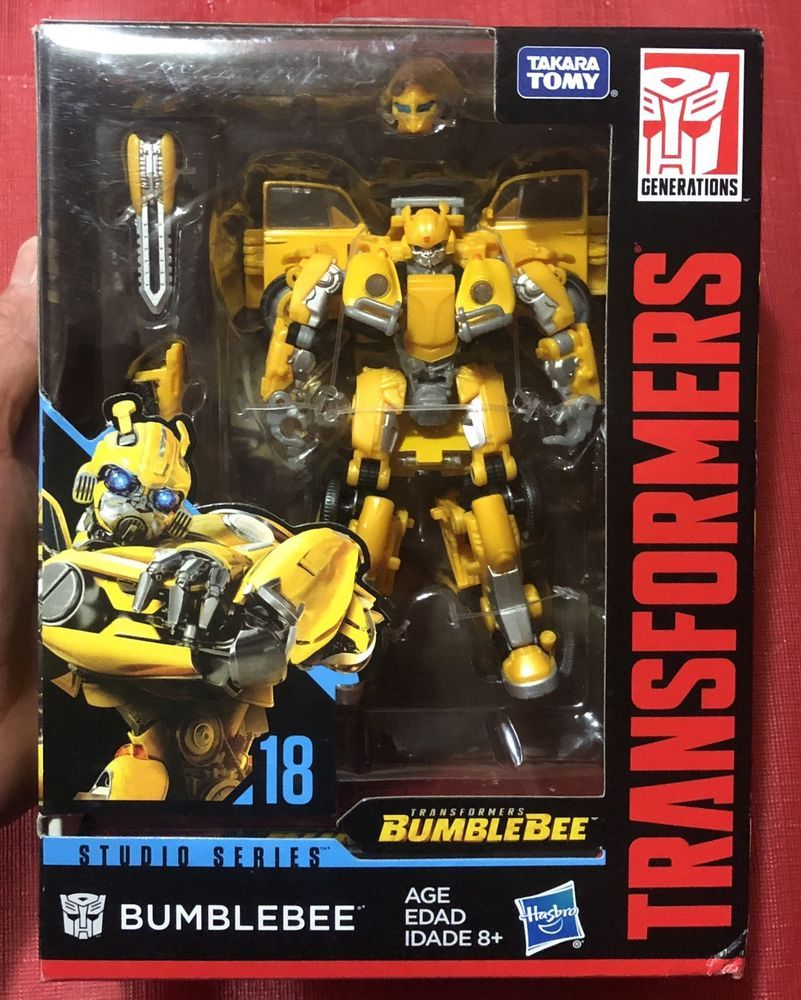 Hasbro Transformers Studio Series #18 Deluxe Class Movie Bumblebee Figure Rare