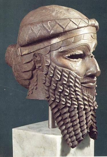 Bronze Head Of The Akkadian Ruler Sargon Ca 2334 2279 Bc Mesopotamia Iraq رأس من البرونز للحاكم الاكدي سرجون Ancient Near East Ancient Sumerian Sumerian