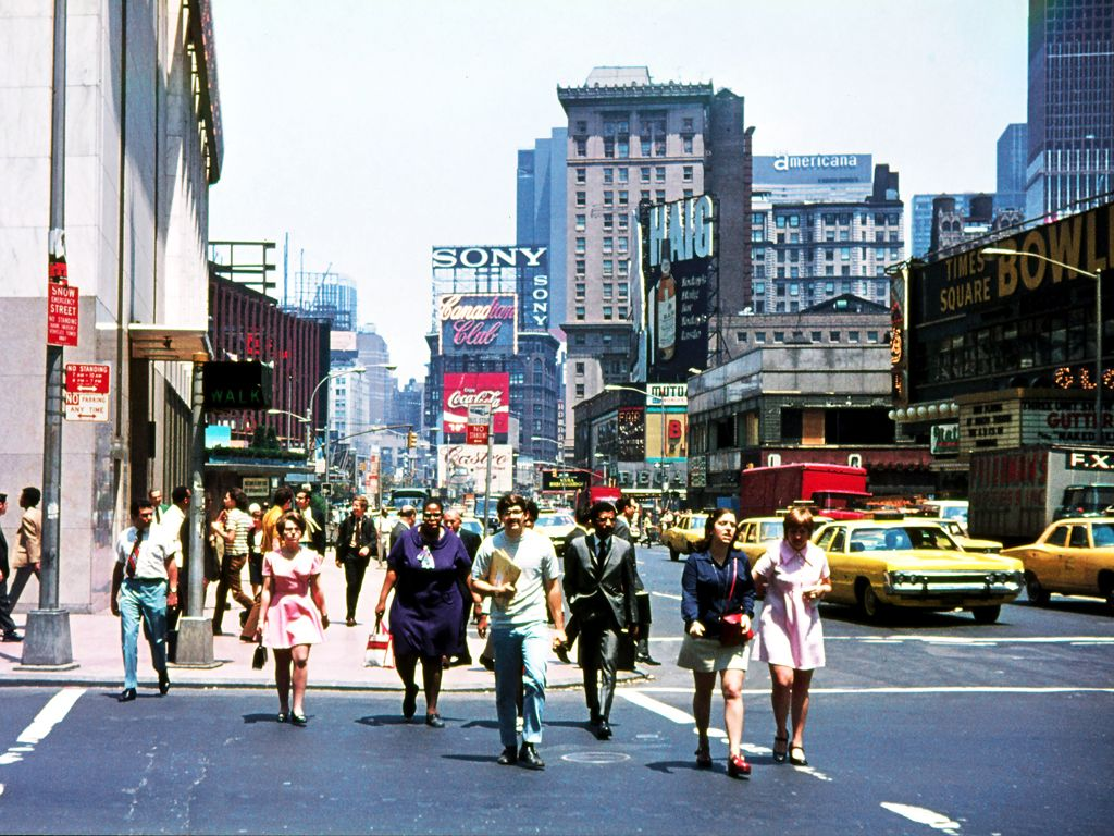 1970s | @Cannes_Lions | Times square new york, New york city, Nyc times  square