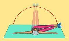 8 wirksame Übungen, die Ihnen innerhalb von 30 Tagen einen flachen Bauch verleihen #fitnesschallenges