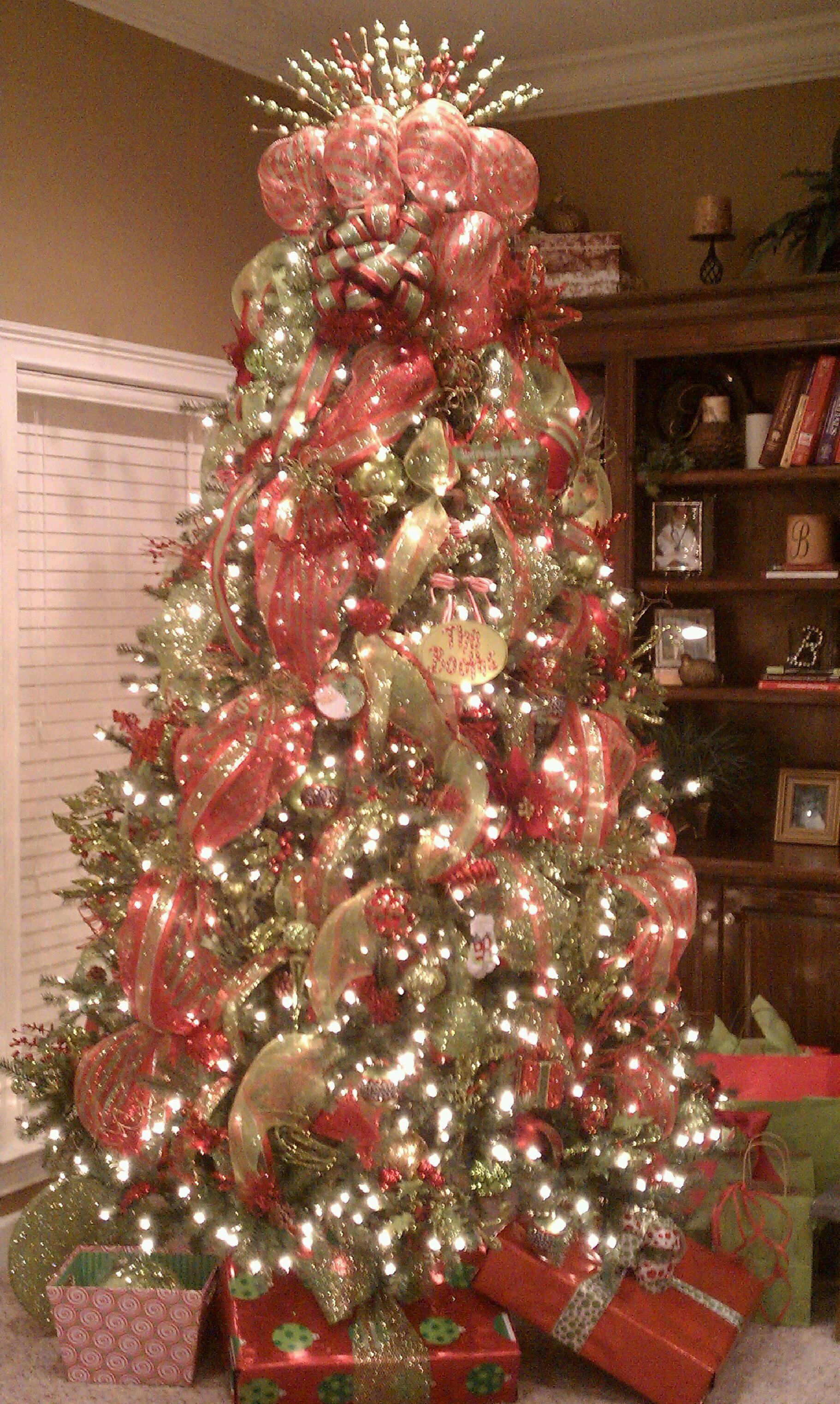 My living room Christmas tree! :)