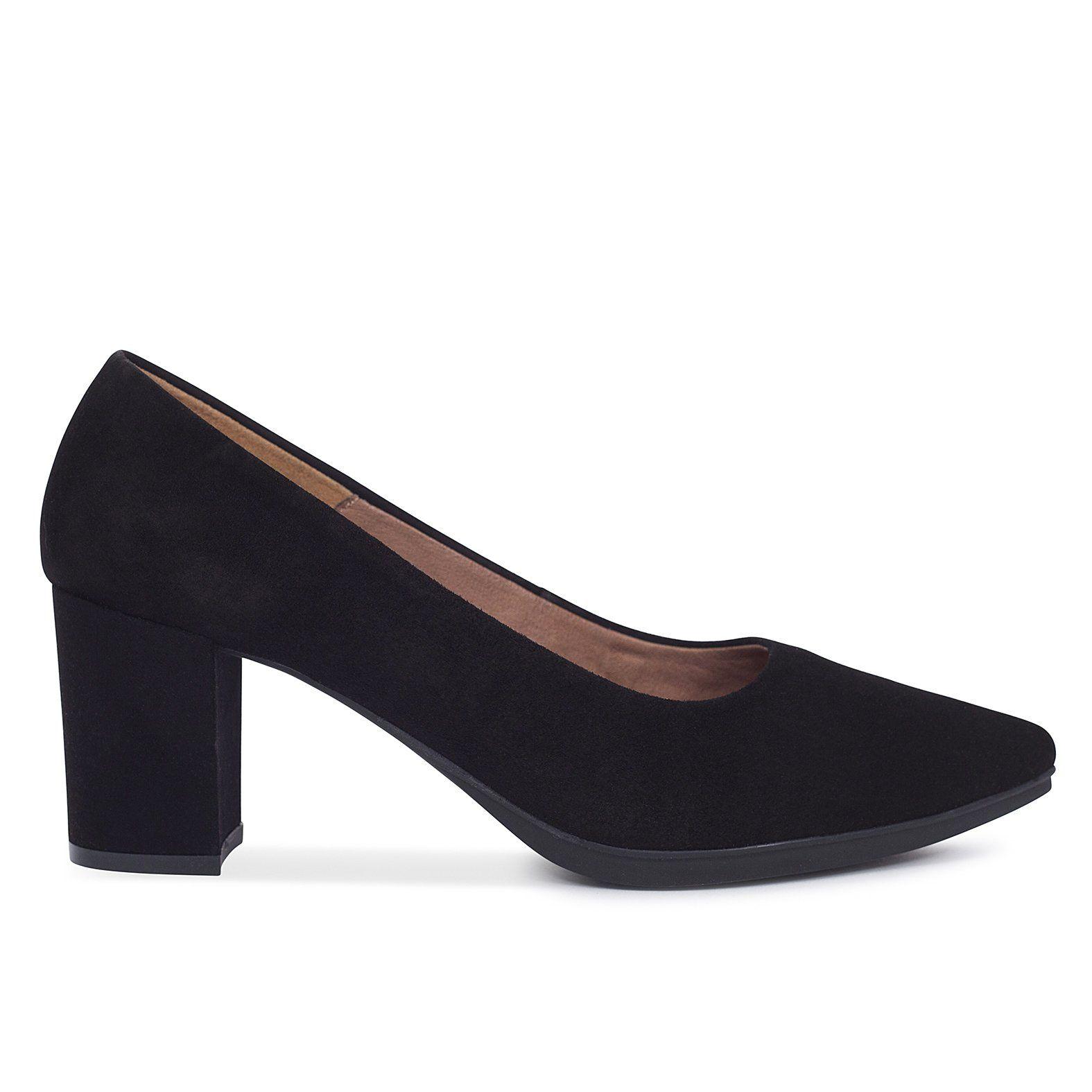 De Zapatos Urban En Tacón Negro 2018 Salón S Mujer Ancho O8gAwq48