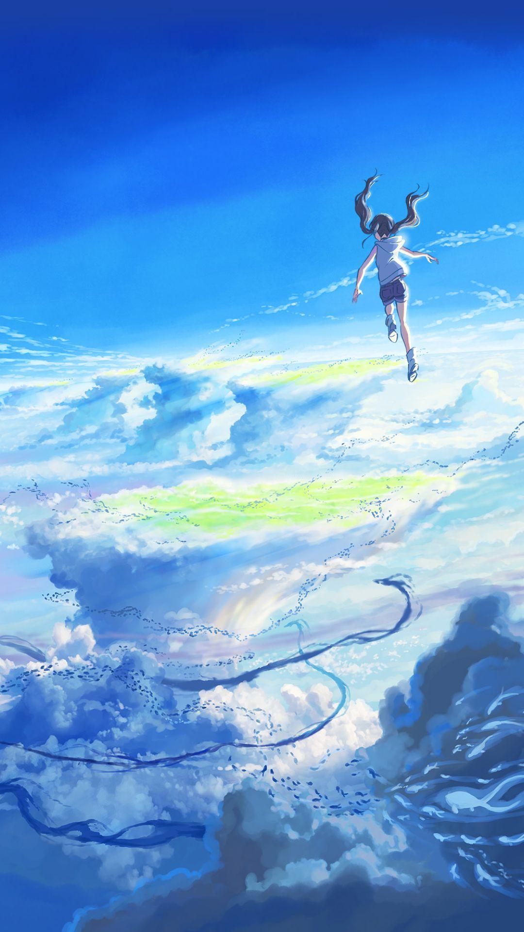 天気の子iphone壁紙 Androidスマホ用画像 アニメの風景 風景 Iphone 壁紙 アニメ