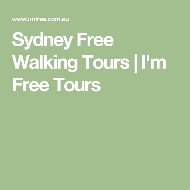 Sydney Free Walking Tours | I'm Free Tours