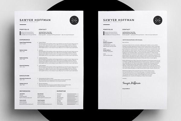 Resume/CV - Threebie Bundle 4 by bilmaw creative on @creativemarket