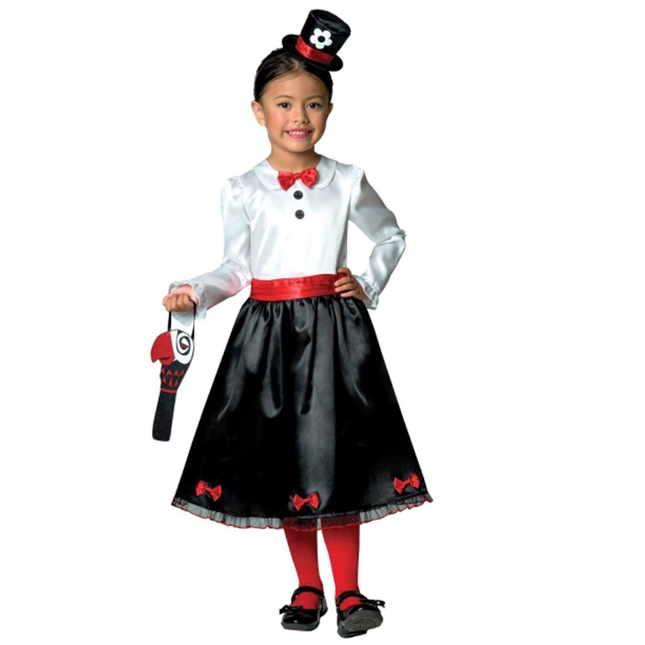 MARY POPPINS VICTORIAN NANNY CHILD GIRLS FANCY DRESS BOOK WEEK COSTUME