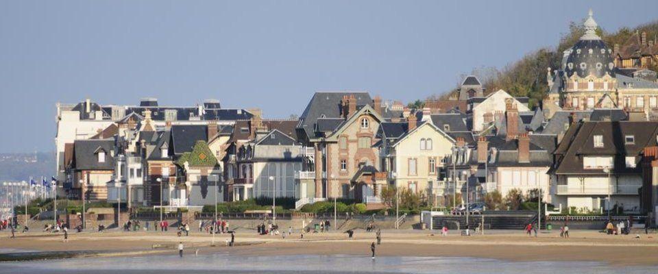 Plage de Cabourg à seulement 20 min de l'hôtel Libéra *** - Colombelles - Caen - Calvados - Normandie