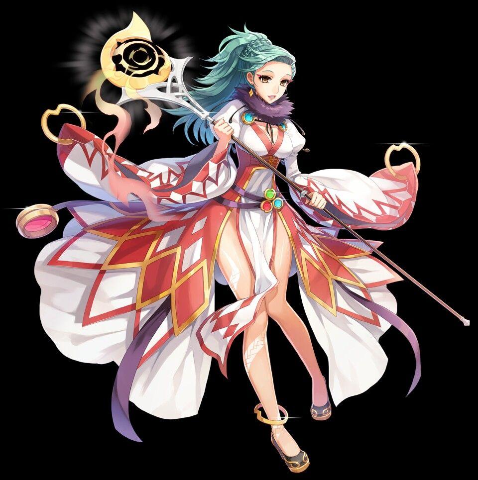 RO Female Sorcerer Alternate Design Aphrodite art