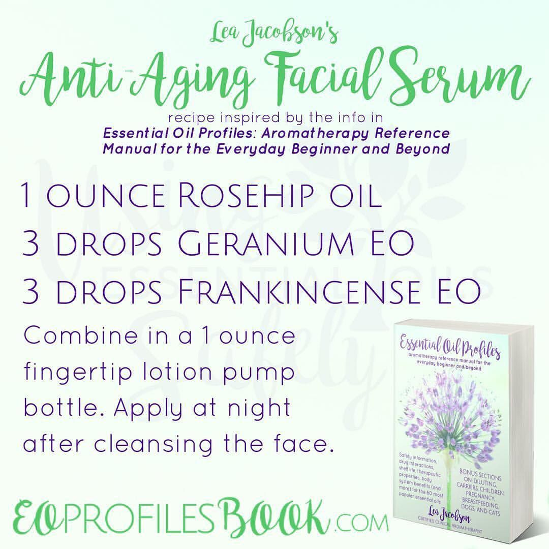 Anti Aging Facial Serum Recipe Based Off The Information In