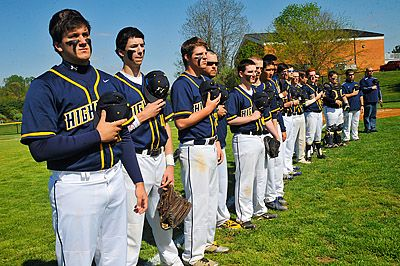 Highland Christens New Baseball Field With Victory Over St Michael Baseball Field Sports Victorious