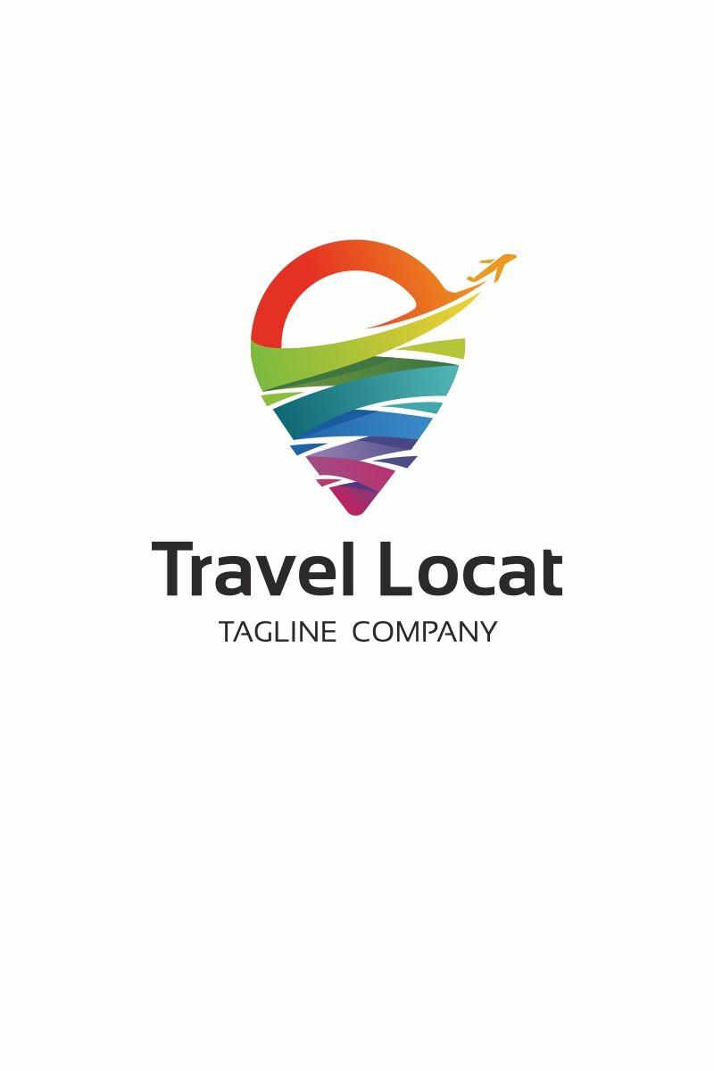 Travel Location Logo Template 67536 Travel Agency Logo Logo Templates Tourism Logo