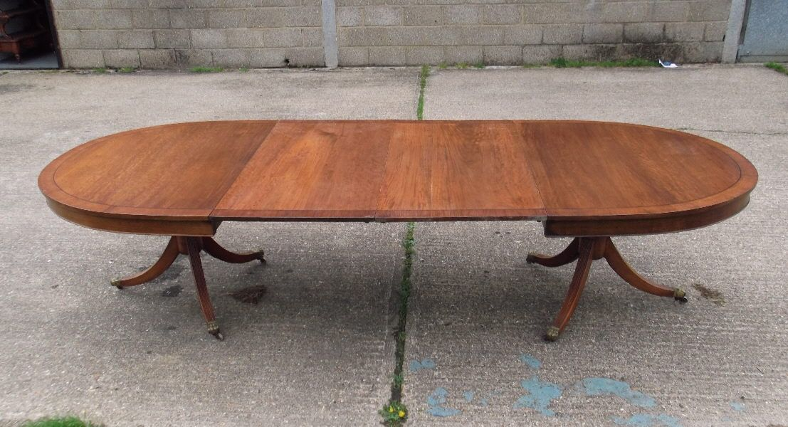 3 Metre Antique Georgian Dining Table 10 Ft
