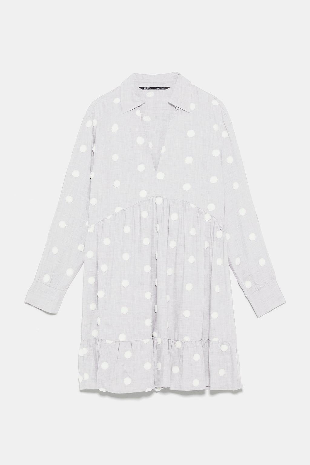En 2019Moda Vestido Combinados Lunares Zara Vestidos sQxdhCBtro