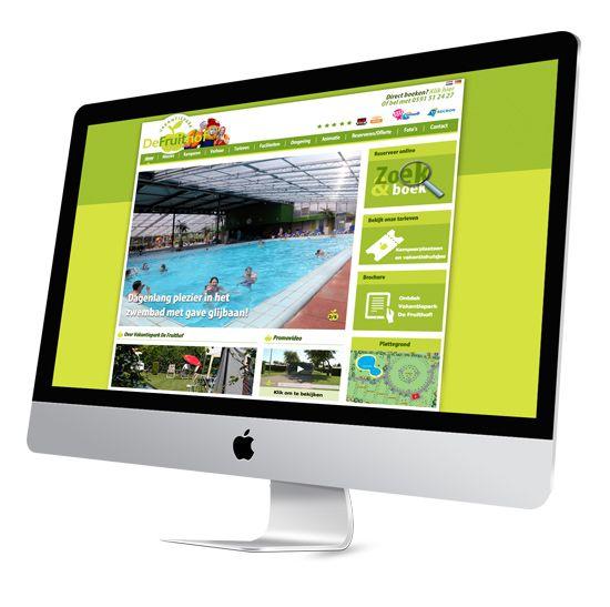 Vakantiepark De Fruithof | Website