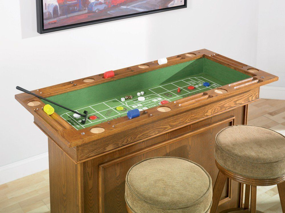 Elegant Amazon.com   Coaster All In One Game Table/Bar Unit With Wine Shelves