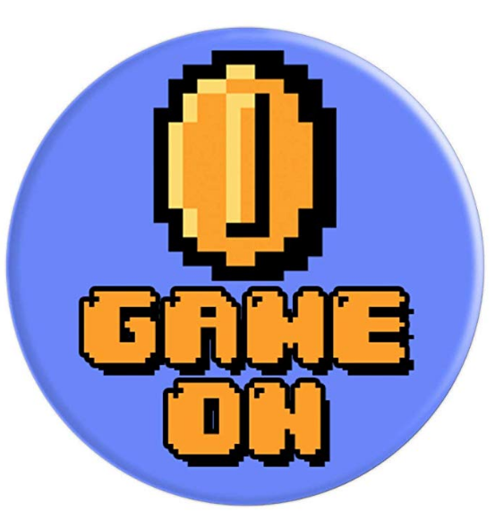 8 Bit Pixel Coin Game On Arcade Retro Gamer Popsockets Grip And Stand For Phones And Tablets Retro Gamer Coin Games Retro Gaming