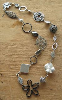 Collage Necklace by Becca...