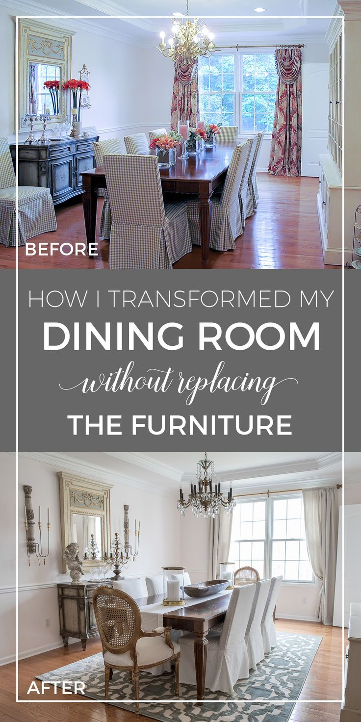 How I Transformed My Dining Room Without Replacing The