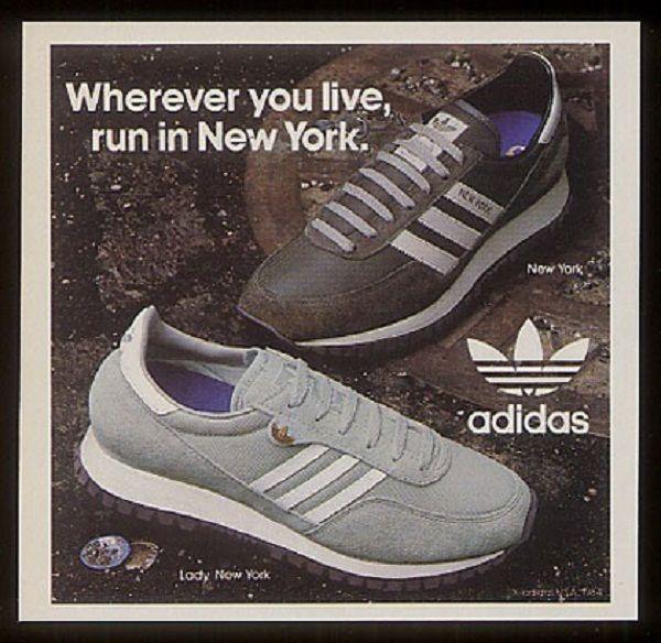 Vintage Adidas New York