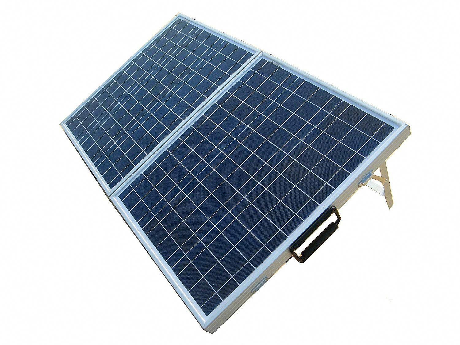 Ecoworthy Folding Photovoltaic Polycrystalline Portable Solar Volts Watts Eco Worthy 12 Volts 80 W Solar Panels Off Grid Solar Panels Best Solar Panels