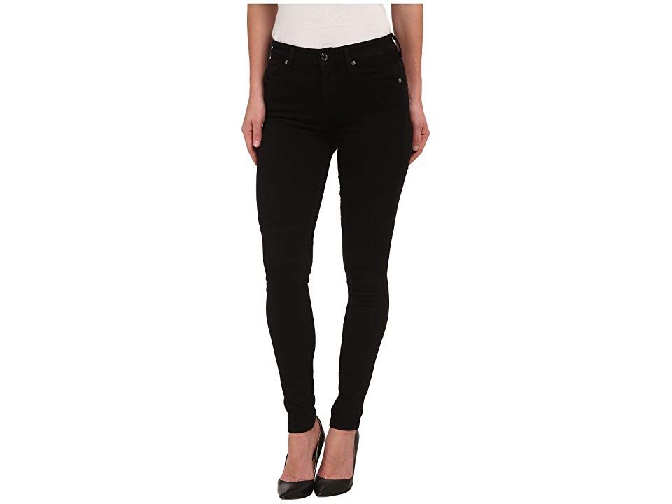 7 For All Mankind The Highwaist Skinny W Contour Waistband In