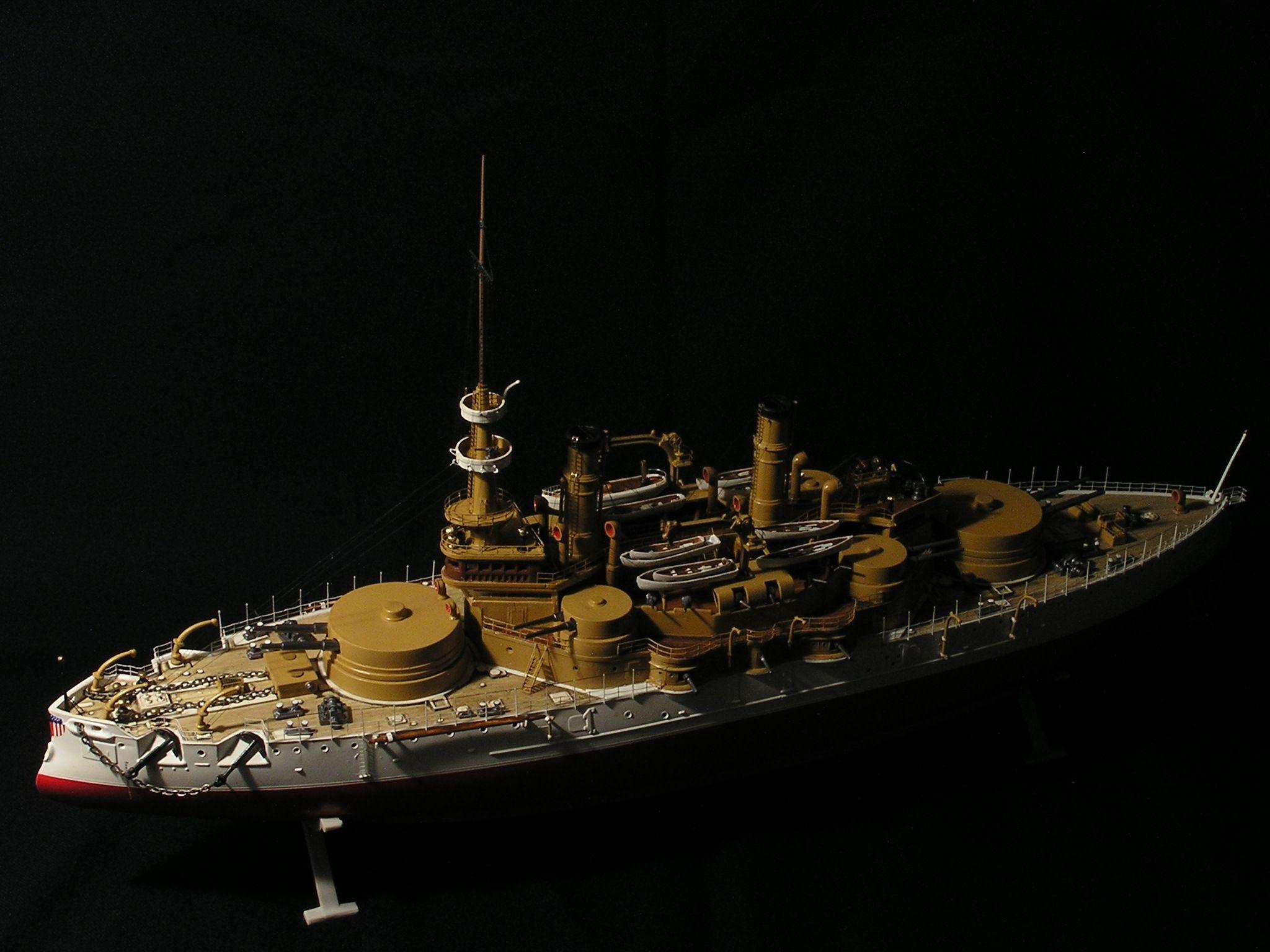 Oregon BB3 Battleship 1898