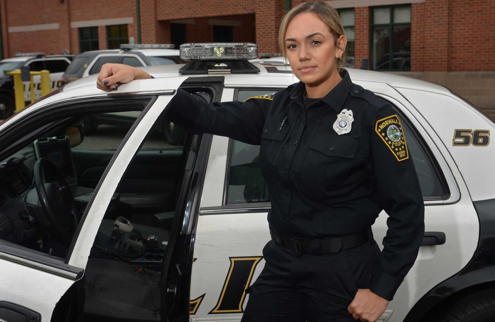 Norwalk police hire first Hispanic female officer in 3
