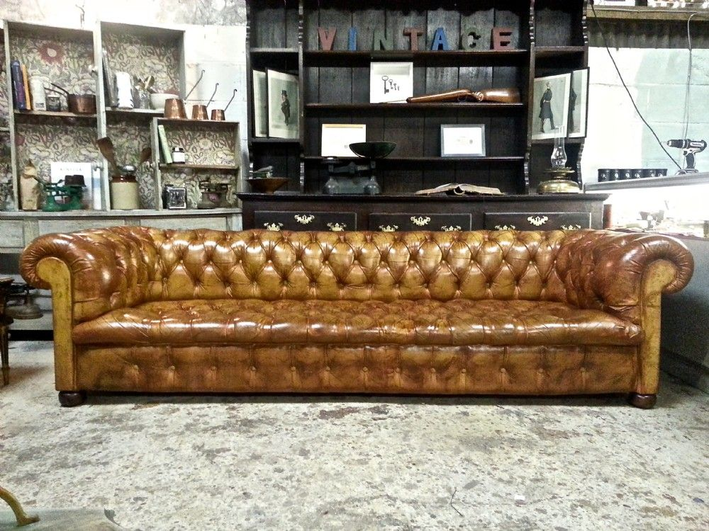 Antique Antique Large Victorian Brown Leather Chesterfield Sofa C1880 | WWW. ANTIQUES.CO.UK SOLD | Furniture | Pinterest | Chesterfield Sofa,  Chesterfield ...