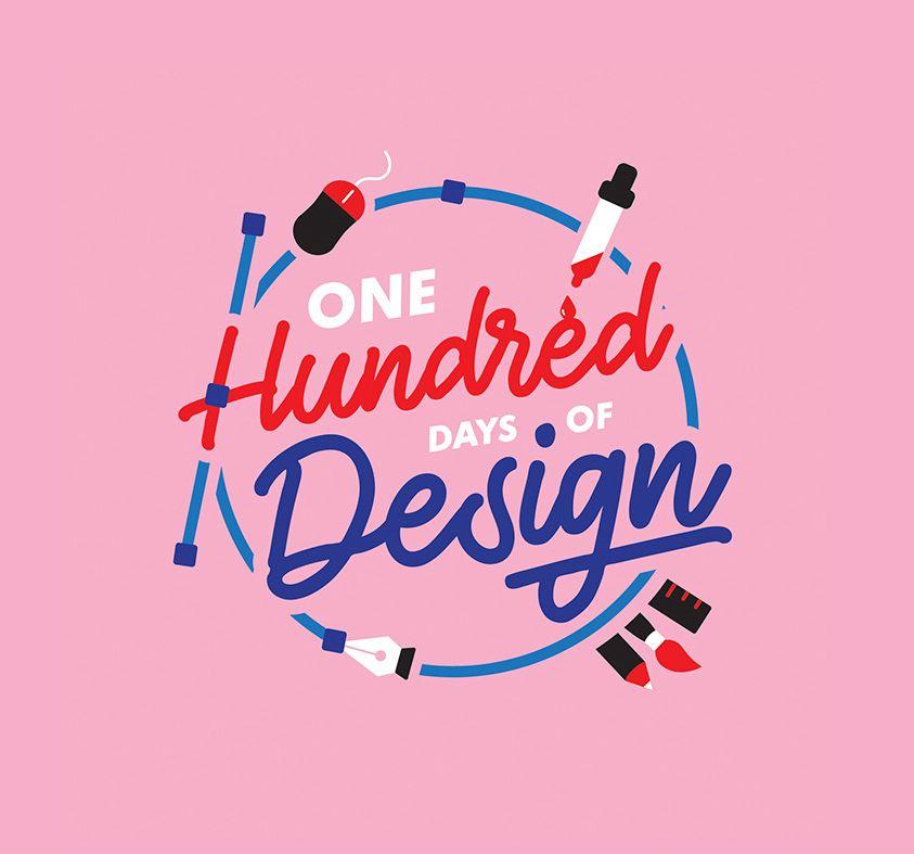 100 Days Of Design Challenge In 2020 Design Challenges Graphic Design Logo Design