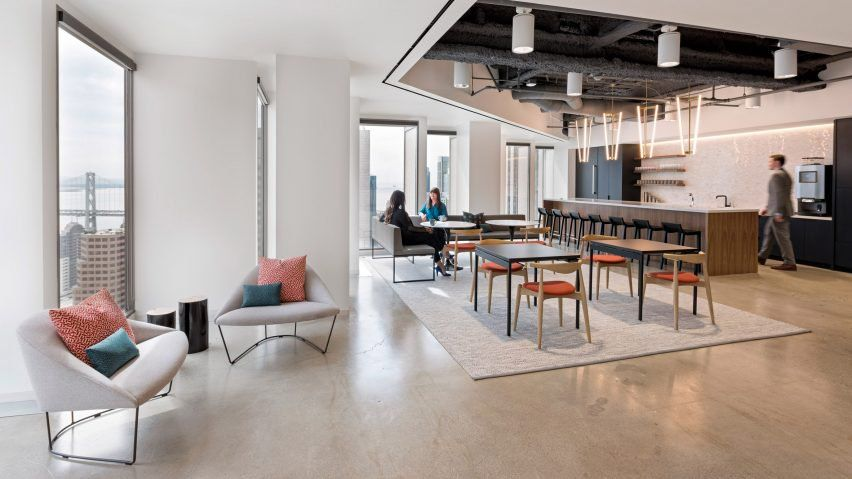 Studio O A teams traditional and contemporary elements for finance ...