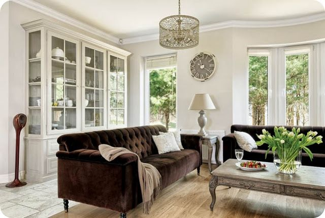 Real Homes Brown Couch Living Room Brown Living Room Decor Brown Sofa Living Room