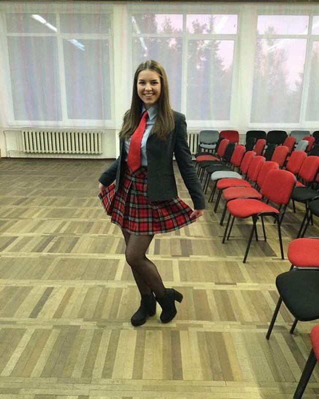 Cute School Uniform With Red Tie  School Uniforms In 2019 -8530