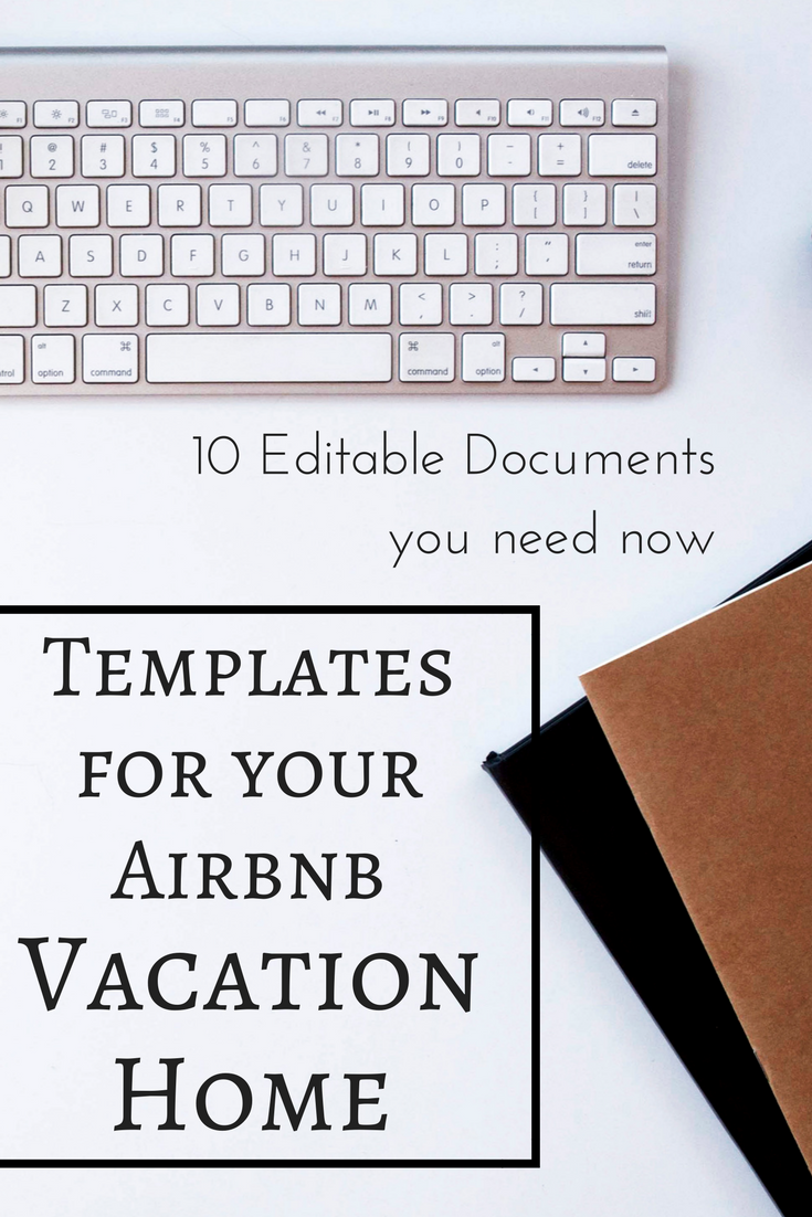 Ultimate Vacation Rental Welcome Book Template Rental Forms 10