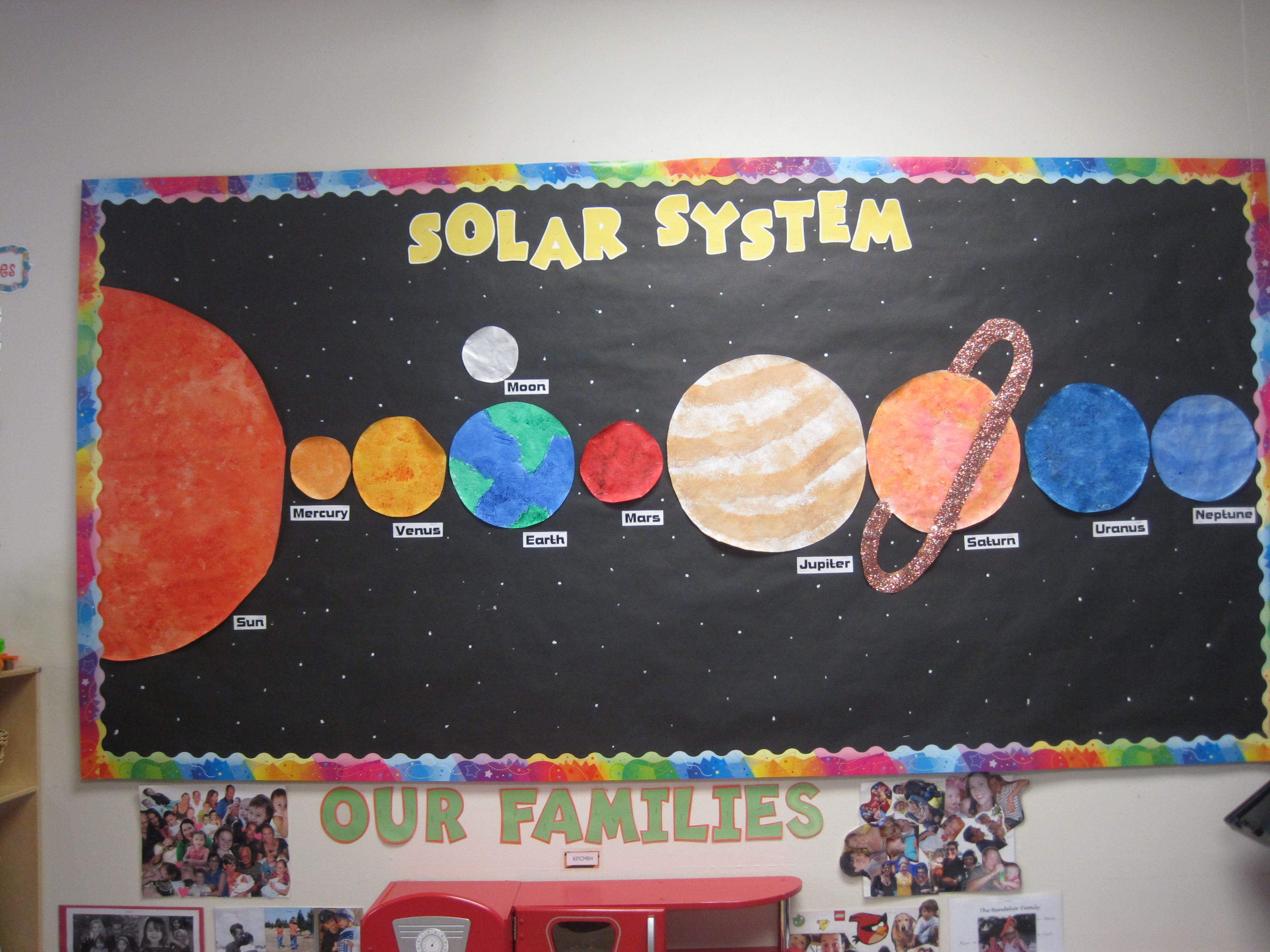 Solar System Month | Bulletin Board Ideas | Pinterest