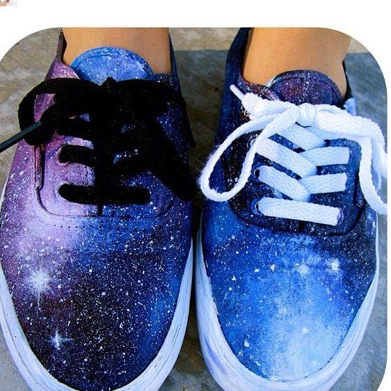 Galaxy vans for sure need | shoes. | Galaxie schuhe, Schuhe