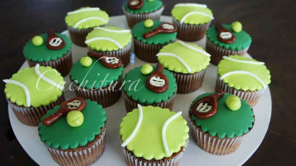 Tenis cupcakes