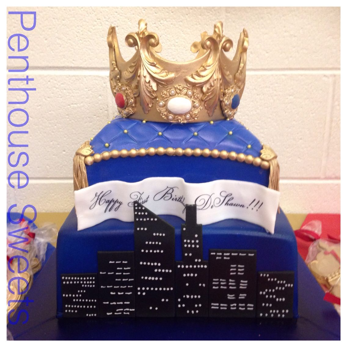 Birthday cake for a prince of the city
