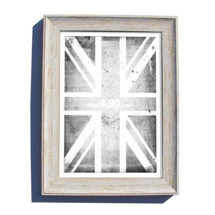 1199 EXMOUTH DISTRESSED WHITE PICTURE FRAME 32MM - Trade prices,Next ...