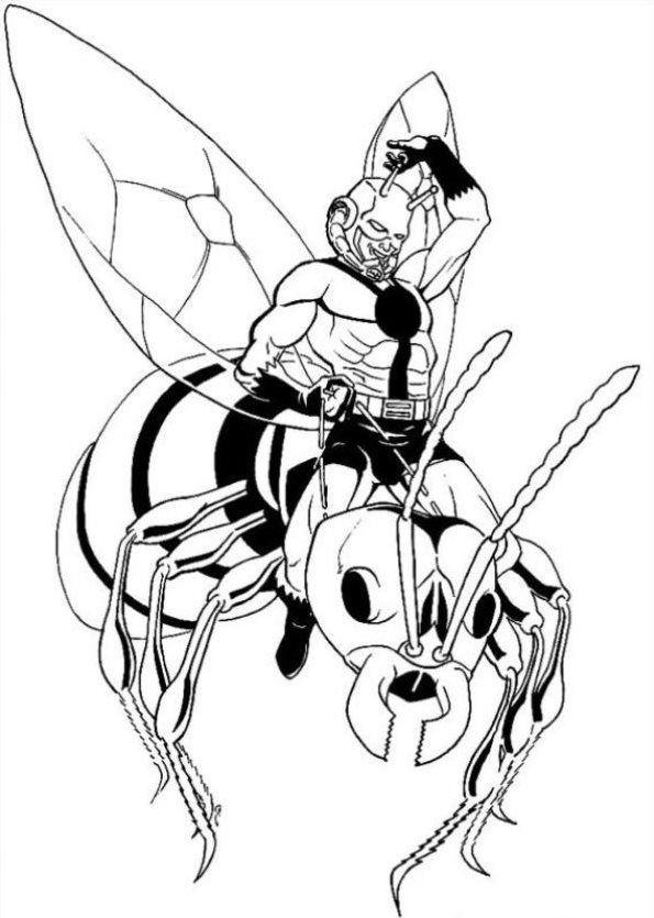 Ant man dibujos para colorear | ideas | Pinterest | Colorear y Dibujo